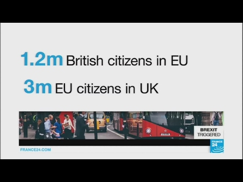 "Brexit / EU citizens in the UK: ""We want to have our rights guaranteed in a separate agreement"""