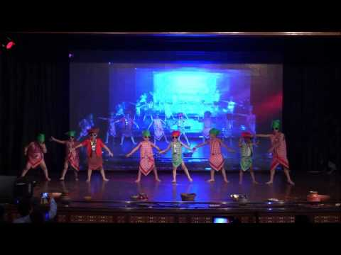 Lungi Dance-Talent overloaded 2016@Tara Shastri...