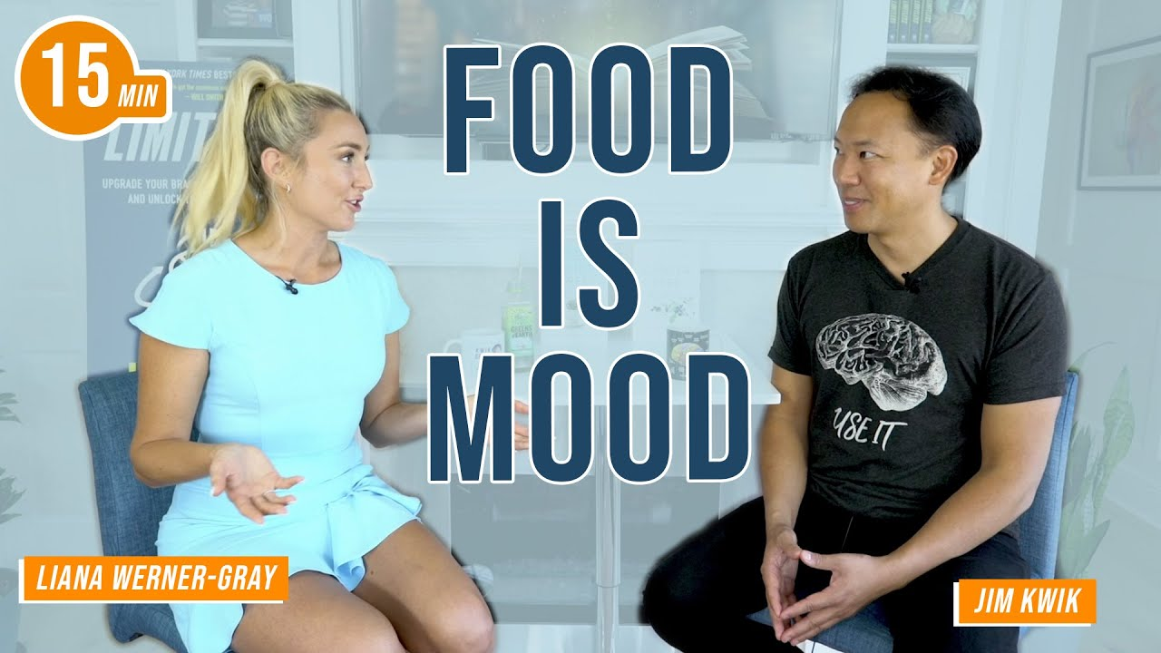 Foods for Reducing Anxiety with Liana Werner-Gray & Jim Kwik