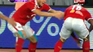 أهداف فوز الأهلي 2 الزمالك 0 عمرو جمال وايفونا الدوري 9 فبراير 2016