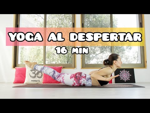 16 min Yoga AL DESPERTAR para todo cuerpo y energía | MalovaElena
