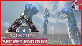 THE ENDING OF ARK EXTINCTION? - Tek Alpha Boss Fight - Is There A Secret Ending Of Ark