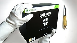 Call of Duty Ghosts PRESTIGE EDITION Unboxing! (CoD Collector's Edition)