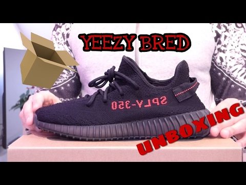 0b30b57103e75c Adidas Yeezy Boost 350 V2 Black Red BRED Unboxing e Recensione Review ITA