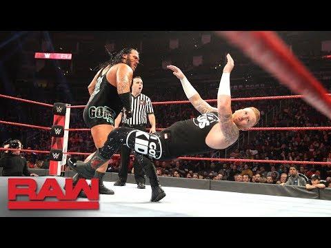 Heath Slater vs. Rhyno - Loser Gets Fired: Raw, Dec. 3, 2018