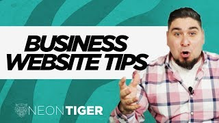 Business Website Tips | Small Business Website Design Tips
