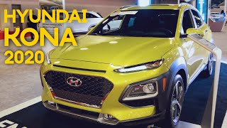 Hyundai Kona 2020 No Miami International Auto Show - Walkaround