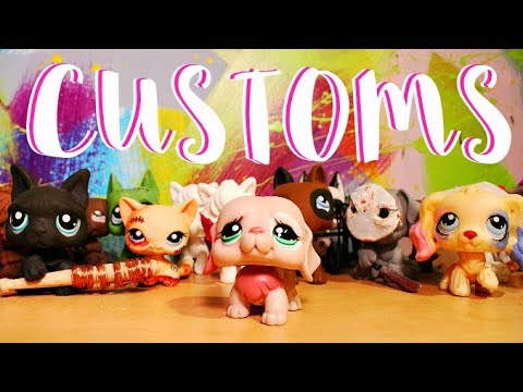 All My Littlest Pet Shop Customs