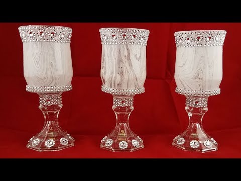 DIY Home Decor : Decorative Candleholder Centerpiece