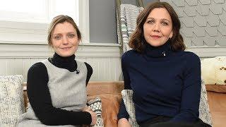 Maggie Gyllenhaal Talks