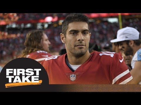 First Take debates if Patriots screwed up by trading Jimmy Garoppolo | First Take | ESPN