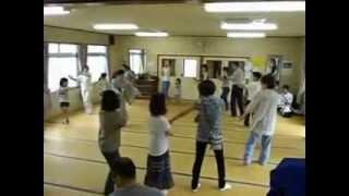 2012年7月1日盆踊り練習二回目の町田音頭.