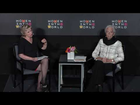 Christine Lagarde in conversation with Tina Brown