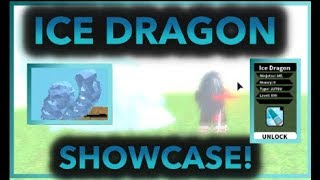 I GOT THE NEW ICE DRAGON SCROLL!|[054]SHOWCASE/REVIEW + FREE FOR ALL!|ROBLOX NRPG- Beyond |