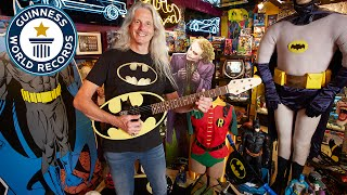 Largest collection of Batman memorabilia - Guinness World Records