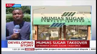 Mumias sugar takeover: Oparanya denied access to Facility, Oparanya chairs sugar taskforce