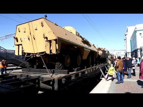 """Поезд """"Сирийский перелом"""" в Новосибирске"""
