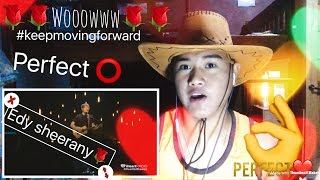 Ed Sheeran Perfect Live Cover(Best performance ever) - REACTION