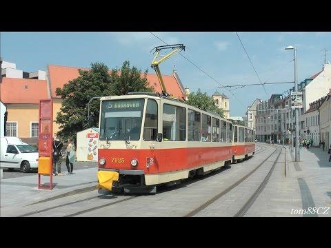 Bratislavské električky / Trams in Bratislava