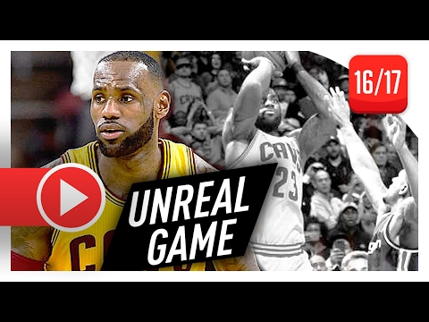 LeBron James Full MVP Highlights vs Wizards (2017.02.06) - 32 Pts, 17 Ast, CRAZY SHOT, FOULED OUT!