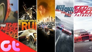 Evolution of Need for Speed: NFS History (1994 - 2018) | GT Hindi