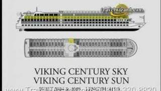 Viking Century and Sky Ships, Viking cruise line, video