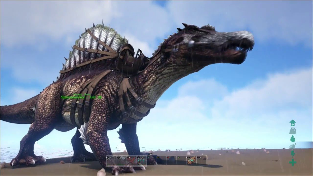 Ark Survival Evolved Dino Coloring On Xbox One Youtube