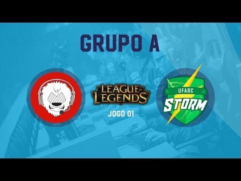League Of Legends - GRUPO A - UFABC Storm x AAAMAT