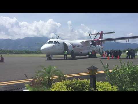 Prepare take off Transnusa air from mali airport Alor