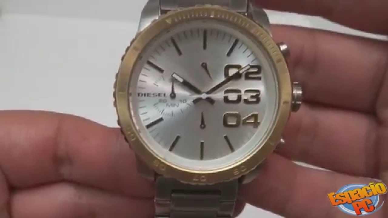 dc82f6eb850f DIESEL DZ5321 - Reloj Unisex - YouTube