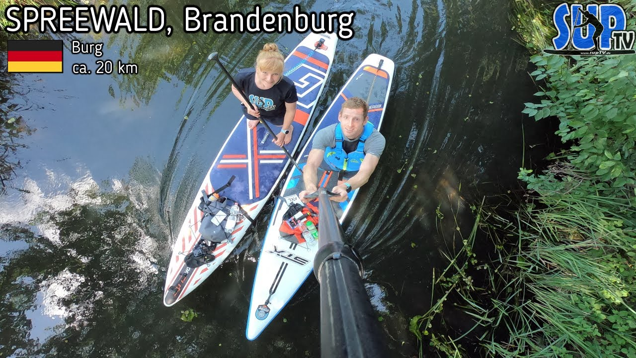 Unsere erste SUP-Tour im Spreewald | 20 km Rundkurs im Oberspreewald | Stand Up Paddling