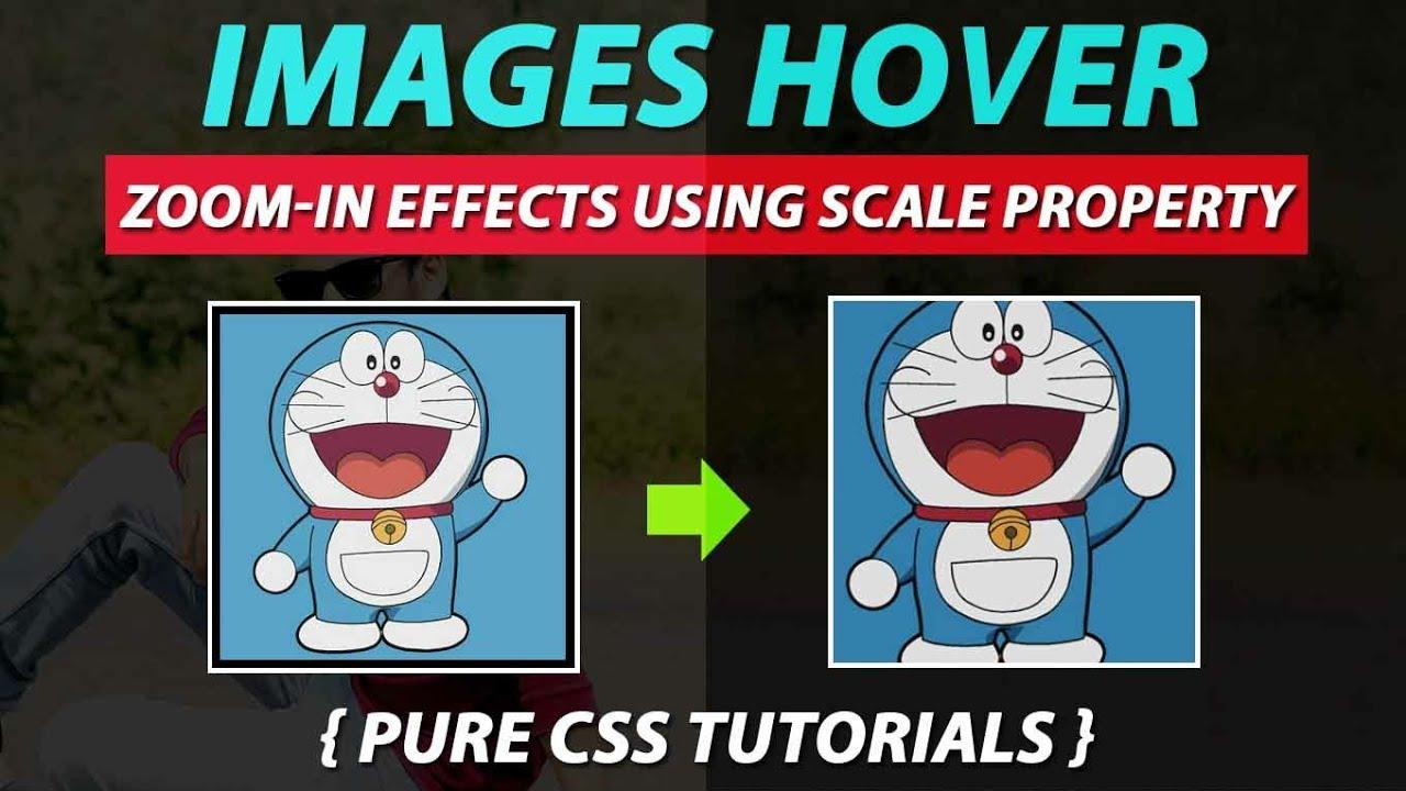 Image Zoom Css Animation - cartoon image