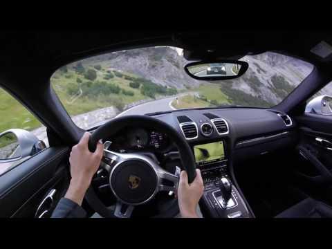 Stelvio Pass to Bormio - POV - Porsche Cayman GTS