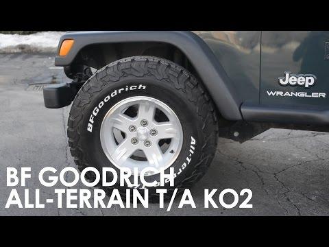 BF Goodrich All-Terrain T/A KO2 On My 05 Jeep Wrangler TJ