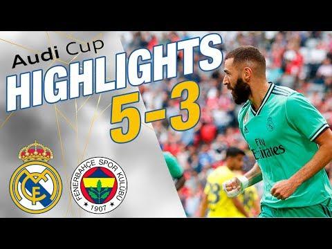 GOALS & HIGHLIGHTS | Real Madrid 5-3 Fenerbahçe