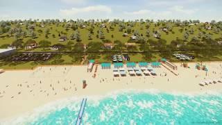Пляж Песчаный , г. Мариуполь (проба Lumion 3d)