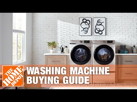 Types Of Washing Machines - Washing Machine Buying Guide | The Home Depot