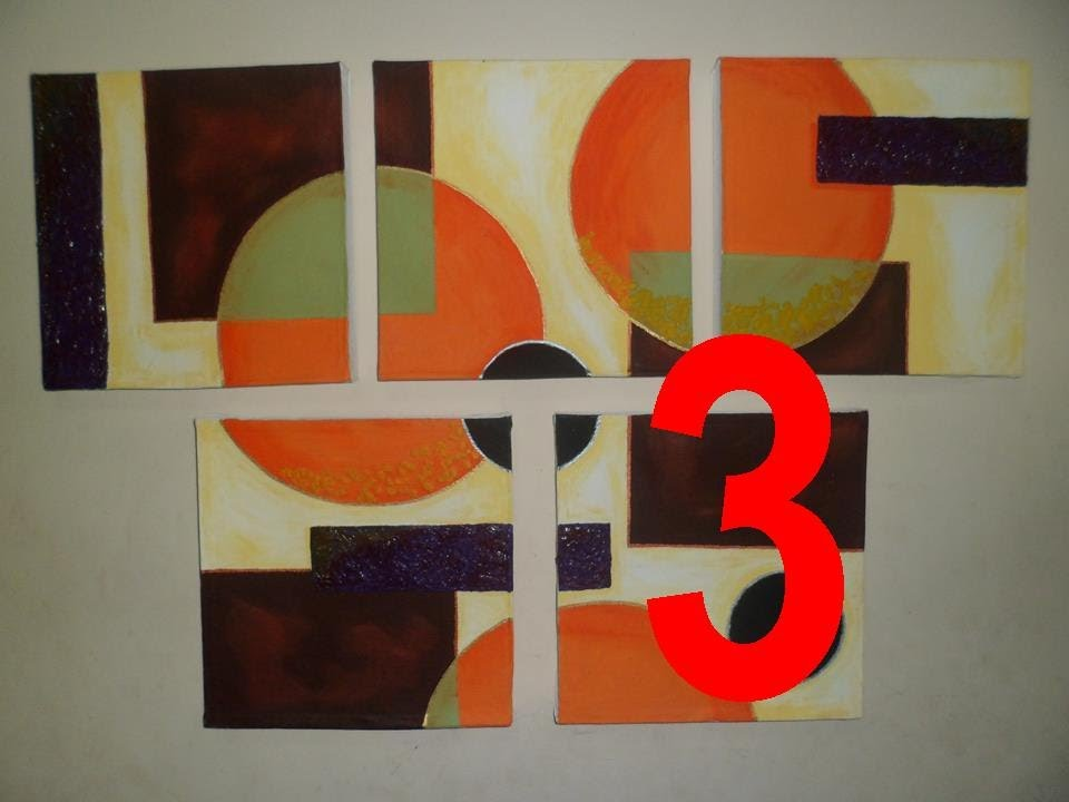 Cuadros hechos en casa p42 3 3 youtube for Cuadros en country para comedor