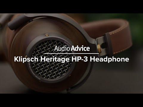 Klipsch Heritage HP-3 Headphone Review