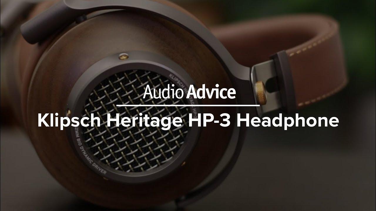 Klipsch Heritage HP-3 Headphones Review   Audio Advice