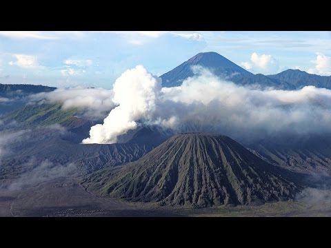 Bromo-Tengger-Semeru National Park, Indonesia in 4K (Ultra HD)