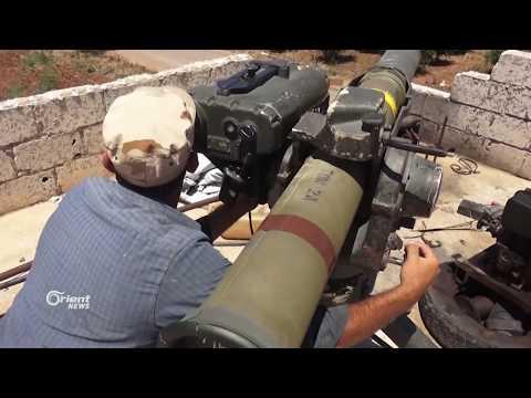 الجيش الحر يتصدى لميليشيا أسد الطائفية في مدينة طفس بدرعا