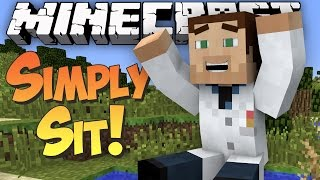 Sit down in Minecraft! - Simply Sit Mod Showcase
