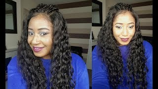 INSTANT 360 LACE WIG INSTALL, NO BLEACH, NO FOUNDATION || CHINALACEWIG