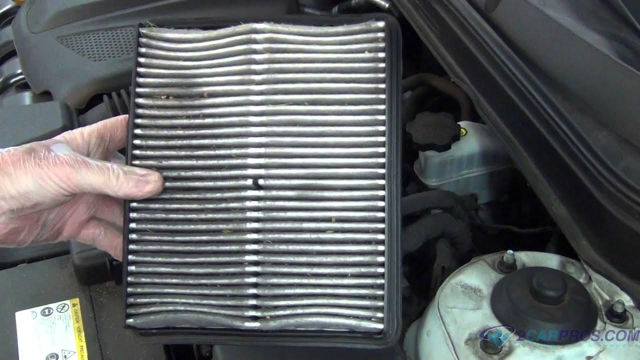 Air Filter Replacement Hyundai Sonata 2009-2014 - YouTube