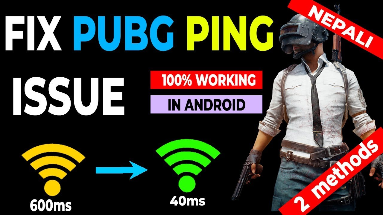 HOW TO LOWER PUBG PING IN ANDROID [100% Working] in Nepali