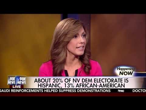 Lisa Boothe discussing the Nevada Caucus on Fox News