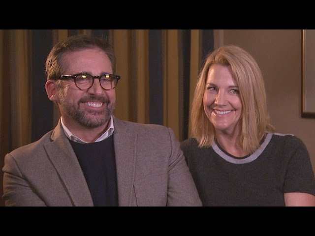 Steve Carell And Wife Nancy Joke How They Balance Marriage And Working Together Sedation Youtube She is popularly known as an elder kid of steve carell who is an american actor and director. steve carell and wife nancy joke how