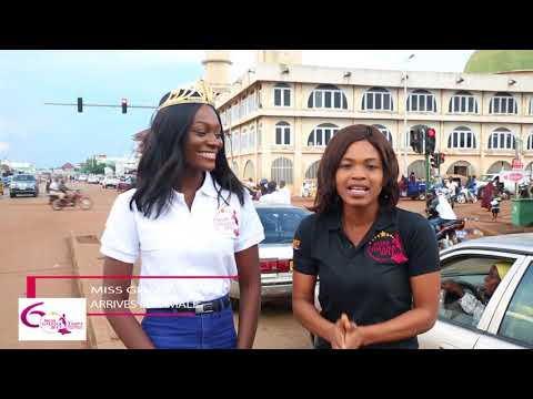 Miss Ghana 2017 Team Arrives in Tamale