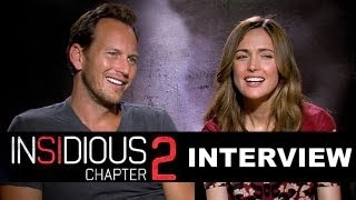 Insidious 2 - Patrick Wilson & Rose Byrne Interview : Beyond The Trailer